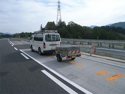 高機能(排水性)舗装目詰まり調査機器