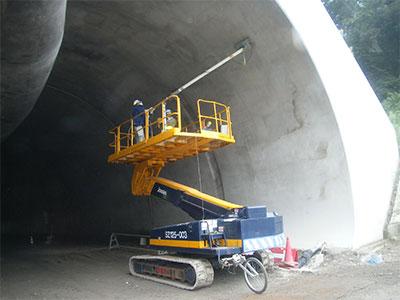 新設トンネル多探査状況